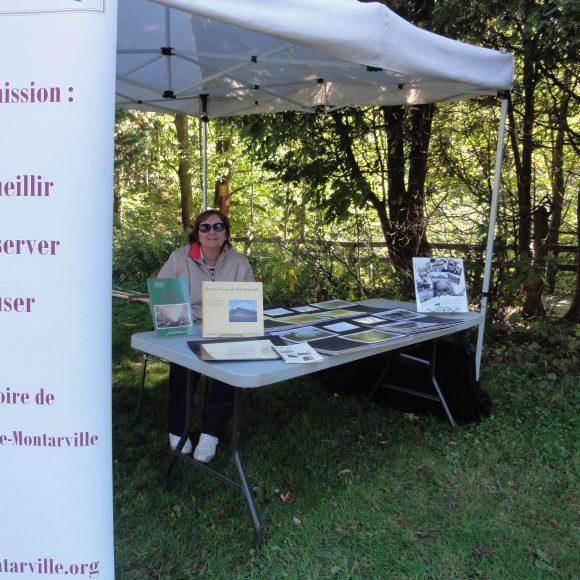Kiosque au Parc du Mont Saint-Bruno