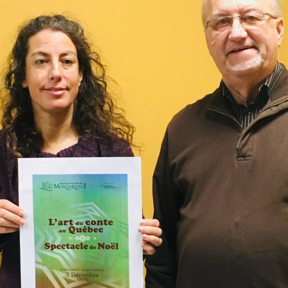 Évolution de l'art du conte au Québec –  Spectacle de Noël